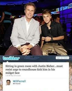 will ferrell jokes | Funny Will Ferrell Tweet - Funny Image, Quotes, Lists, Jokes and More
