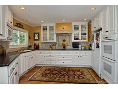Kitchen Design With White Appliances kitchen ideas : decorating with white appliances / painted