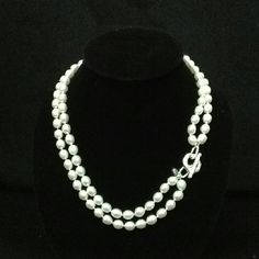 New Waccamaw Pearl toggle with 1st Thess 5: 16-18 verse on a double strand pearl necklace- $160 Southern Belle, Classy Women, Wardrobe Staples, Pearl Necklace, Jewelry Making, Gems, Pearls, Accessories