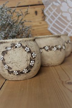 Slab Pottery, Ceramic Pottery, Painted Flower Pots, Ceramic Flowers, Cold Porcelain, Vase, Stoneware, Clay, Ideas