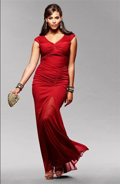 Adrianna Papell Gown #Plus #Size