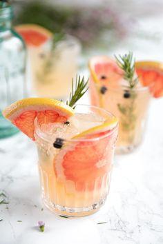 Elderflower Grapefruit Gin and Tonic.