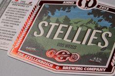 The Stellenbosch Brewing Company: Stellies beer