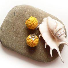 Sun - kolczyki w SolmilarArt na DaWanda.com Crochet, Etsy, Jewelry, Jewlery, Jewerly, Schmuck, Ganchillo, Jewels, Jewelery