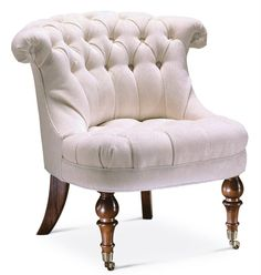 Baker Furniture - Button Back Chair