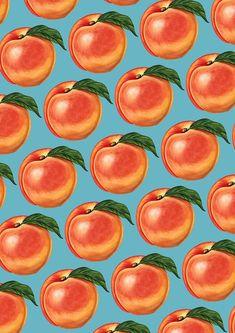 Peach Pattern by Kelly Gilleran