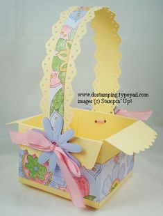 Big Shot Class: Easter Projects with Pennant & Scallop Envelope Dies - DOstamping with Dawn, Stampin' Up! Demonstrator