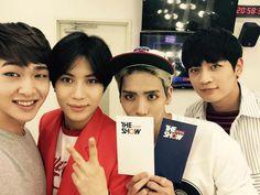 Onew, Taemin, Jonghyun, and Minho