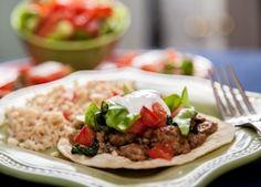 Turkey Tostadas - Foodie Recipe - American Diabetes Association