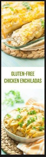 Gluten Free Chicken Gluten Free Chicken Enchiladas | Food And Cake Recipes http://ift.tt/2ijNwFF