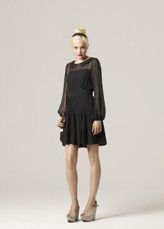Perfect polka dot dress. Orla Kiely SS2011.
