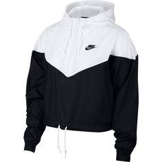 Nike Sportswear Cropped Hooded Windbreaker - Jacken und Blazer - Frauen - Macy & # s Source Teen Fashion Outfits, Sporty Outfits, Swag Outfits, Dance Outfits, Trendy Outfits, Cool Outfits, Womens Fashion, Fashion Trends, Fashion Ideas