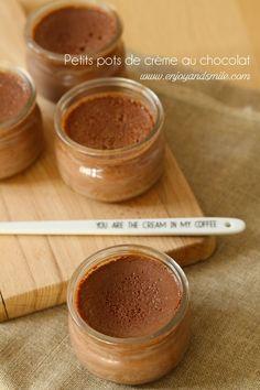 L'essayer c'est l'adopter, voici la recette parfaite de petits pots de crème au chocolat
