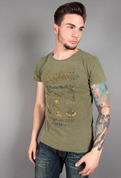 T-shirt Esprit con stampa 045EE2K044-E313