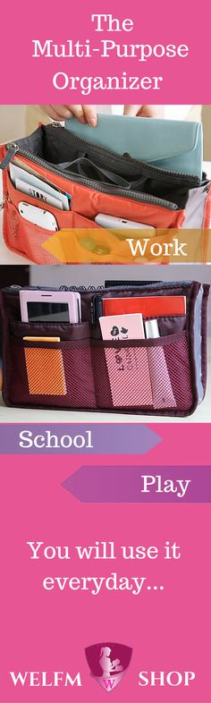 This dual purse organizer is both fashionable and well crafted at the same time. It is certain to be useful for a variety of organization needs in your life. It can be used for more than your purse organization. Free Shipping for Valentine's Day Weekend. Promotion Valid from 2/12/2016 - 2/14/2016 Happy Valentine's Day from Welfm Shop.