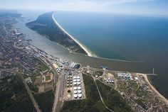 Klaipeda, Lithuania-The Curonian Spit. Halfway down the beach it turns into Russia.