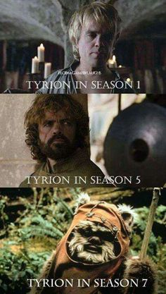 The force is strong with this one | Tyrion