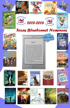 Texas Bluebonnet Nominees 2015-2016 | Texas Bluebonnet Nomiee ...