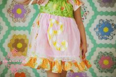 Girls Easter Dress Butterfly Kisses by ISADORAKIDS on Etsy, such a cute dress!