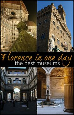What to do in Florence in one day! Recommendations to enjoy the best museums in Florence and attractions in only one day in the city. How to plan your itinerary, choose the best places to visit in Florence in one day and buy your tickets in advance. Travel tips and suggestions to where to eat and how to enjoy the most of this stunning city in Tuscany, Italy. via @loveandroad #Italy #Tuscany #Florence #traveltips