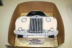 Rolls Royce cake Farm Cake, Home Meals, Lush Garden, Bread Baking, Rolls Royce, Birthdays, Lily, Cakes, Handmade