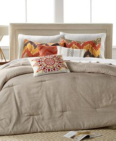 CLOSEOUT! Cape Town 6-Pc. Comforter Set, Only at Macy's | macys.com