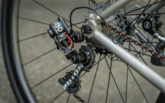 Rotor UNO hydraulic group set on customized VPACE T1ST titanium frame - what was Boomer!