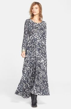 Free People 'First Kiss' Maxi Dress available at #Nordstrom