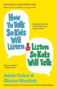 """Laste Ned eller Lese På Net How to Talk So Kids Will Listen & Listen So Kids Will Talk Bok Gratis PDF/ePub - Adele Faber, The ultimate """"parenting bible"""" ( The Boston Globe ) with a new foreword—and available as an ebook for the first. Best Parenting Books, Kids And Parenting, Parenting Hacks, Gentle Parenting, Peaceful Parenting, Parenting Classes, Parenting Plan, Foster Parenting, Beloved Book"""