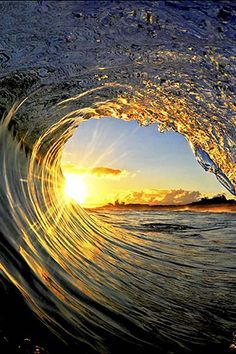 *Sunset n wave