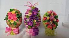 Znalezione obrazy dla zapytania stroiki wielkanocne z papierowej wikliny Jar, Home Decor, Decoration Home, Room Decor, Jars, Drinkware, Interior Decorating