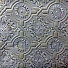 Paintable Wallpaper Textured Tile Wallpaper 56 Sq Ft Roll for sale online Paintable Textured Wallpaper, Tile Wallpaper, Embossed Wallpaper, Emboss Painting, Victorian Wallpaper, Silver Paint, Tiles Texture, Ceiling Tiles, Tile Patterns