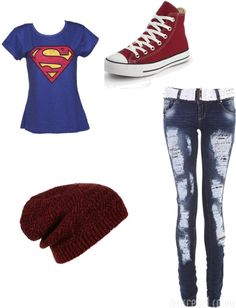 """""""scene outfit"""" by rachel-orangecat ❤ liked on Polyvore! If thus was a Thor shirt I would like this outfit even More than I already do!!"""