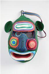 Hand Made Exhibition | Mask by Bert Jan Pot, handmade design, experimental design