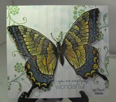 Swallowtail, Stampin' Up!, details are at www.sandystamper.com.