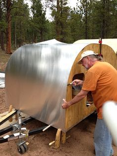 How to construct a camper DIY
