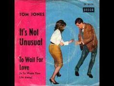 ▶ Tom Jones It's Not Unusual - YouTube