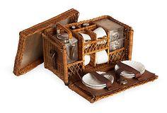 Edwardian Picnic Tea Set on OneKingsLane.com