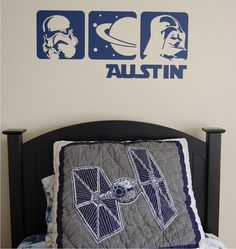 lola decor - star wars decal - perfect addition to your star wars themed bedroom!