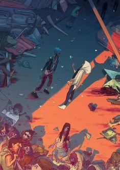 El apocalipsis zombi por Ricardo Bessa                                                                                                                                                                                 Más