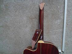 Wesley Martins Luthier: Violão Phoenix - Colagem do headstock + tingimento e verniz do braço (Luthier na Zona Leste de São Paulo)