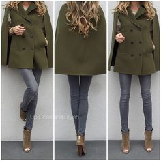 Up Close and Stylish @upcloseandstylish Instagram photos | Websta The other week - #Valentino cape, #HM ('Super skinny, Super low waist') jeans and #TomFord open toe boots.  (19 May 2015)