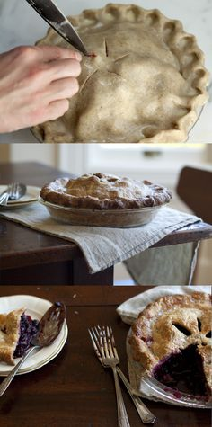 Flaky Rye Pie Crust (for sweet and savory pies) scant 2/3 cup rye flour 1 1/2 cups unbleached all-purpose flour 1/4 teaspoon fine grain sea salt 8 oz / 1 cup salted butter 1/3 cup cold water or beer