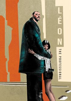 An illustration of the film 'Léon the Professional'. Steampunk Festival, Young Magazine, Tyler The Creator, Girl Smoking, Red Earrings, Exhibition Poster, Work Tops, Film Stills, Hats For Men