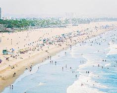 Santa Monica Beach California Dreaming