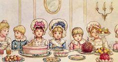 Kate Greenaway Книги Для Детей, Открытки Дизайн, Винтажные Изображения, Винтажные Картины, Старинные Карты, Старые Письма, День Благодарения, Мечты, Бумага