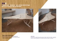 Mathilde Milojevitch - Apprentie Entreprise Sigeben - Diplôme des Métiers d'Art,Option Mobilier décors, Spécialité Ebénisterie - Lycée du Pays d'Aunis - Session 2014