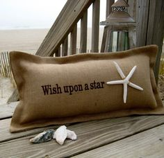Wish upon a star outdoor pillow...adore it!!!