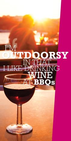 Are you outdoorsy? #wine #bbq #party
