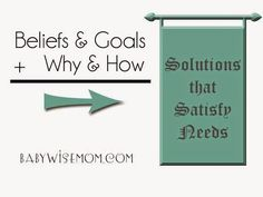 Beliefs and Goals and How They Impact Parenting. How to solve your parenting dilemmas and problems by understanding this simple equation. Solve problems so solutions work for YOUR family.